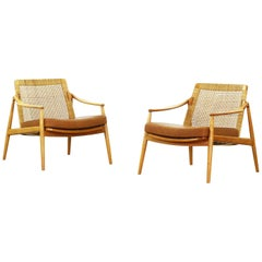 Pair of Lounge Chairs by Hartmut Lohmeyer for Wilkhahn