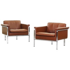 Beautiful Pair of Lounge Chairs by Horst Brüning for Alfred Kill International