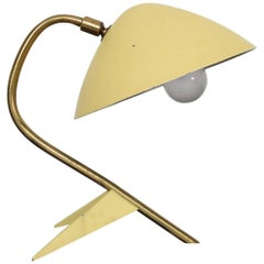1950s French Vintage Boris Lacroix Desk Lamp