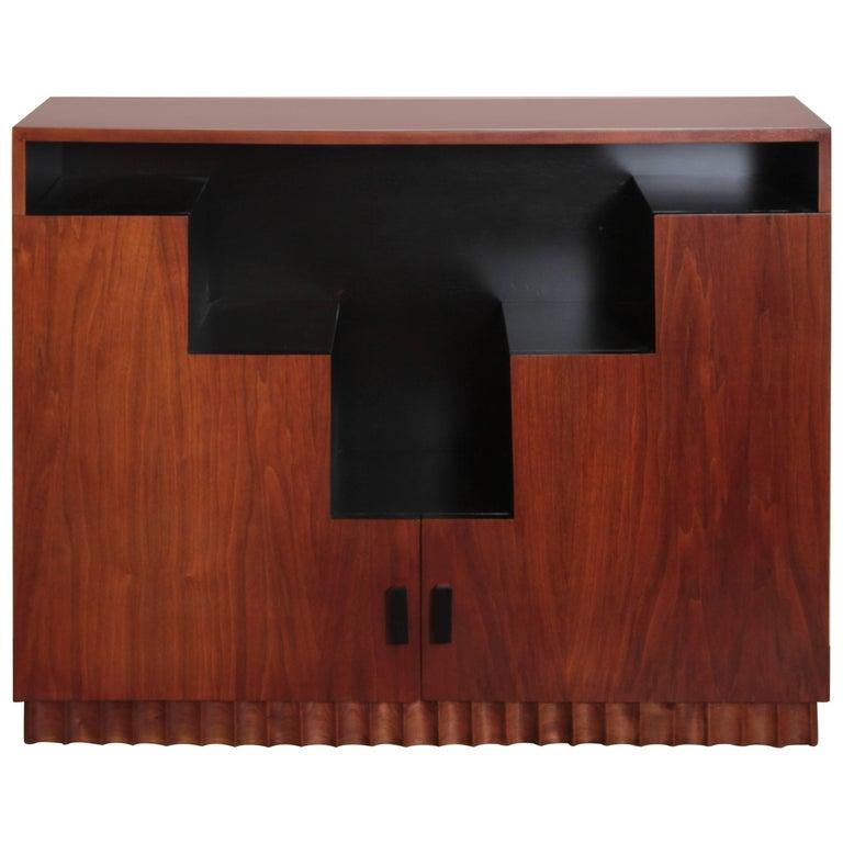 Art Deco Skyscraper Bookcase Manner of Paul Frankl Display Storage Cabinet