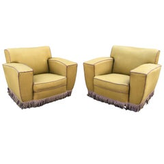 Art Deco Original Club Armchairs