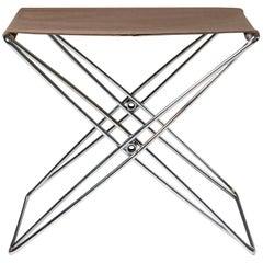 Folding Stool Designed by Jörgen Gammelgaard, Denmark, 1970