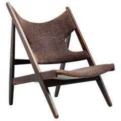 Ib Kofod Larsen Knitting Chair Christensen and Larsen, 1950