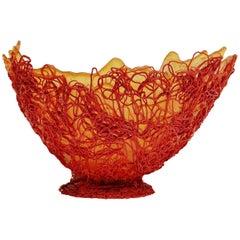 Gaetano Pesce Extra Large Spaghetti Bowl for Fish Design, 2004