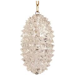 Massive Murano Glass Pendant Lamp