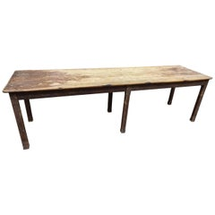 Late 19th Century French Refectory Table