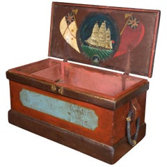19th Century Welsh Seaman's Sea Chest