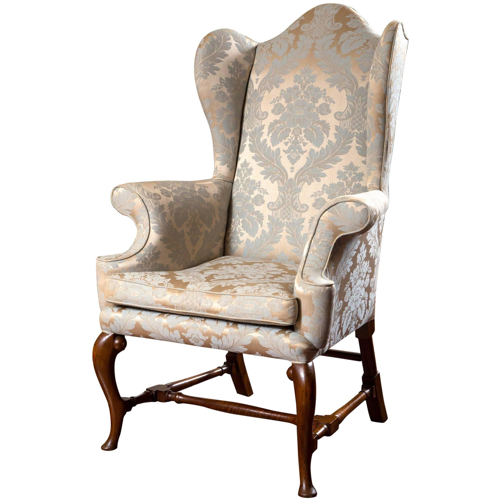 19th Century English Wing Chair