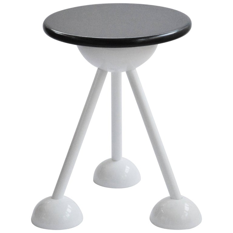 Contemporary Saturn Tripod Table by Connor Holland in Powder-Coated Steel For Sale