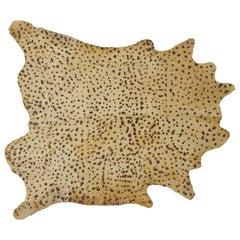Brasil Cowhide Rug, Leopard Printed