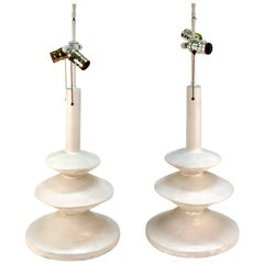 Pair of Table Lamps by Giacometti