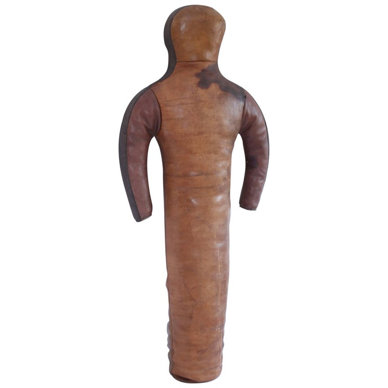 Vintage Leather Wrestling Dummy