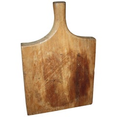 19th Century French Bread Board