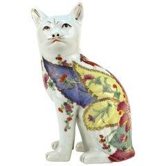 Chinese Tobacco Leaf Cat Sculpture
