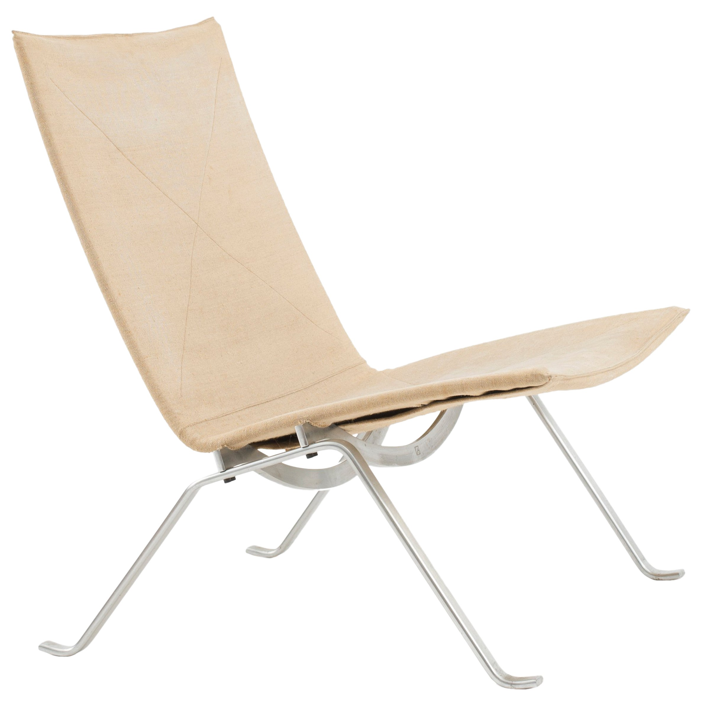Poul Kjaerholm PK22 in Canvas for E. Kold Christensen