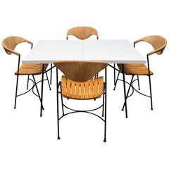 Italian Mid-Century Modern Dining Set by Arthur Umanoff