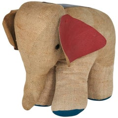 Vintage Elephant Therapeutic Toy by Renate Müller