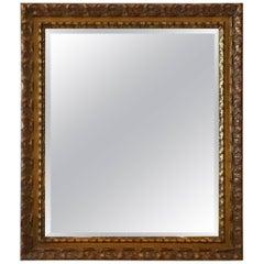 Gold Leaf Beveled Mirror