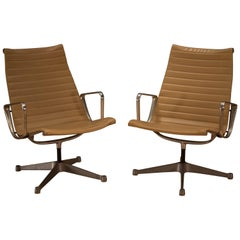 Vintage Eames Aluminum Group Chairs