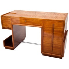 Art Deco Desk, France, circa 1940s