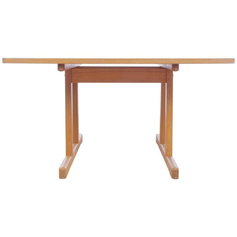 Mid-Century Modern Scandinavian Dining Table Shaker 6287 by Børge Mogensen
