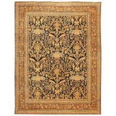 Beautiful Antique Persian Mahal Sultanabad Rug
