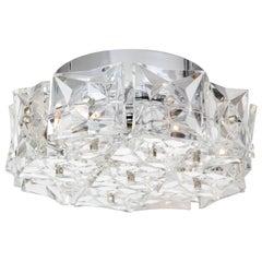 Kinkeldey Crystal Prism Flush Mount, 1 of 2