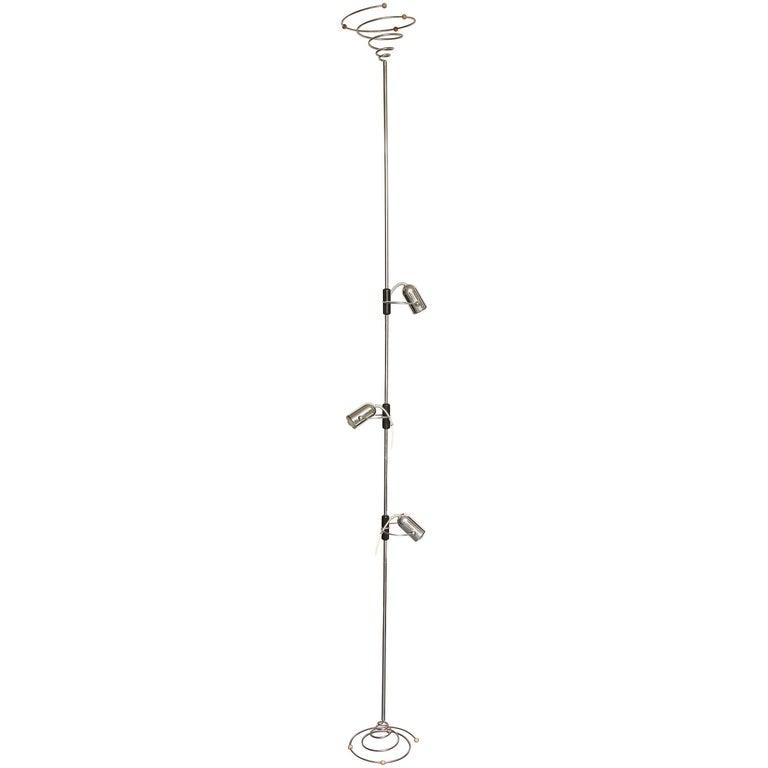 Reggiani Articulated Floor Lamp Mid-Century Modern, Italy, 1970s
