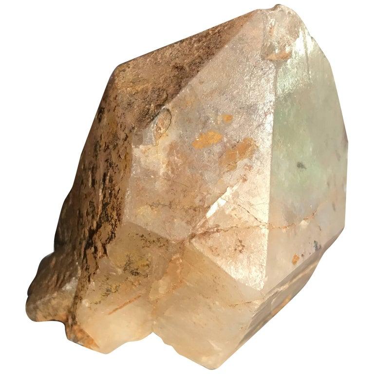 Chinese Antiquity Find: Ancient Spiritual Crystal Quartz Sculpture