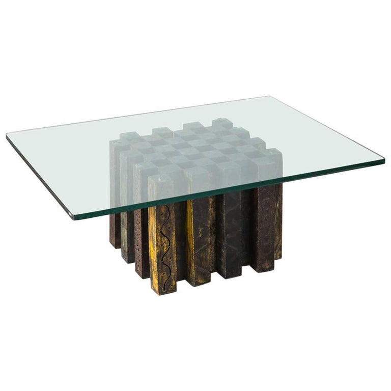 Enjoyable Paul Evans Coffee Chess Table Usa 1969 Gmtry Best Dining Table And Chair Ideas Images Gmtryco