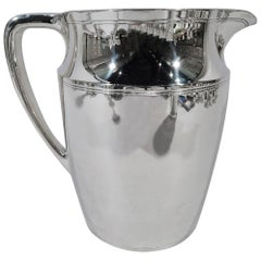 Tiffany Modern Sterling Silver Water Pitcher