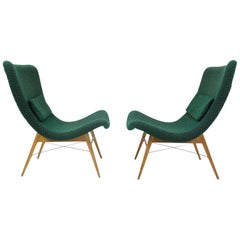 Mid-Century Lounge Chairs by Miroslav Navratil, 1960s