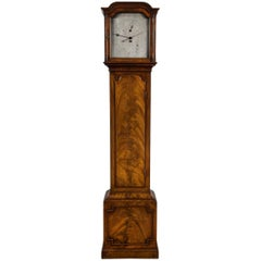 Antique Regency Year Calendar Mahogany Regulator Longcase by John Miller