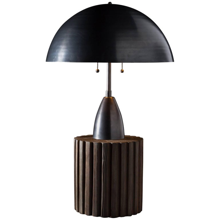 Column Table Lamp by APPARATUS For Sale