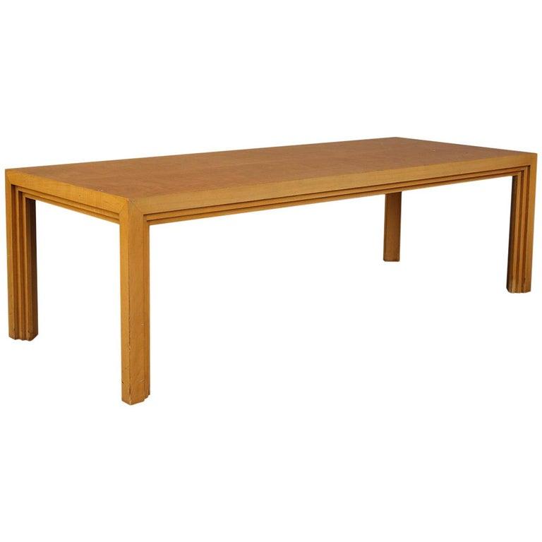 T.H. Robsjohn-Gibbings Low Table For Sale