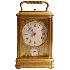 Antique Carriage Clock by Drocourt of Paris