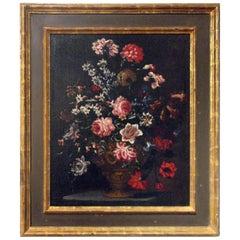 Bouquet of Carnations Still Life, Attributed to Bartolomeo Bimbi, circa 1700s