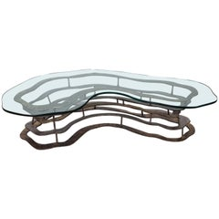 Large Volcano Coffee Table by Silas Seandel