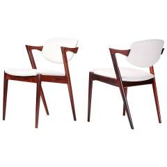Kai Kristiansen Model 42 Chairs