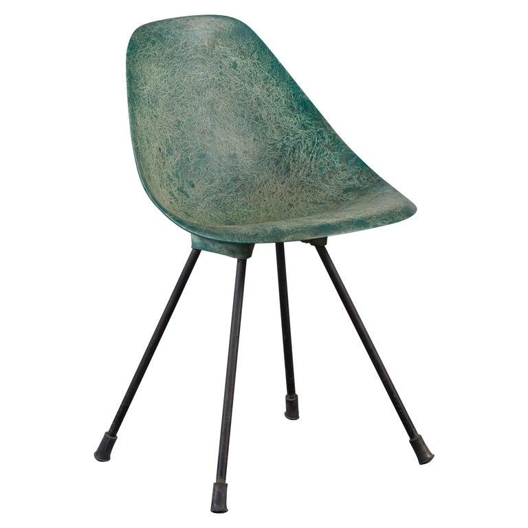 Fiberglass Chair by Jean-René Picard