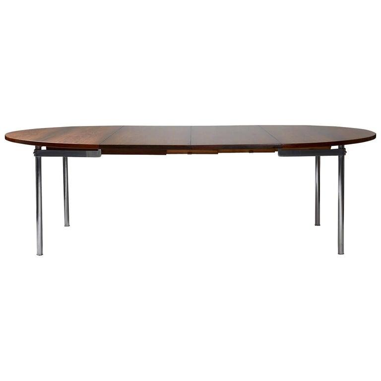 Dining Table Designed by Hans Wegner for Andreas Tuck, Denmark, 1961 For Sale