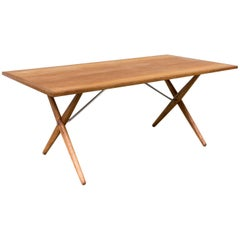 1960s Hans J. Wegner 'AT-303' Dining Table for Andreas Tuck