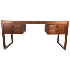 Danish Modern Teak Desk by Dansk, Denmark