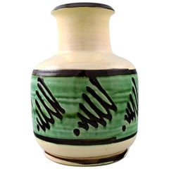 Kähler, Denmark, Glazed Stoneware Vase, 1930s
