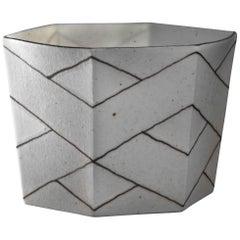 Bodil Manz Small Porcelain Bowl, Denmark, 1990s