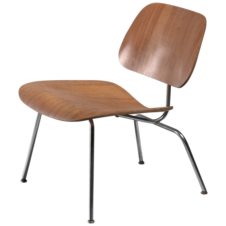 LCM Chair in Walnut by Charles Eames for Herman Miller, 1950s 1