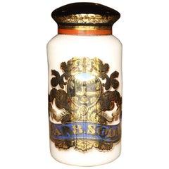 Huge 19th Century Chemist Apothecary Jar Shop Display Advertising