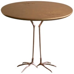 "Gold ""Traccia"" Table by Meret Oppenheim"