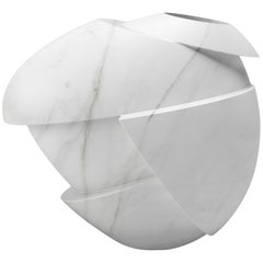 Marble Abstract Sculpture Vase
