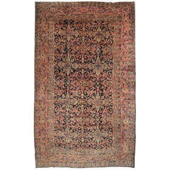 Early 20th Century Antique Persian Sarouk Rug